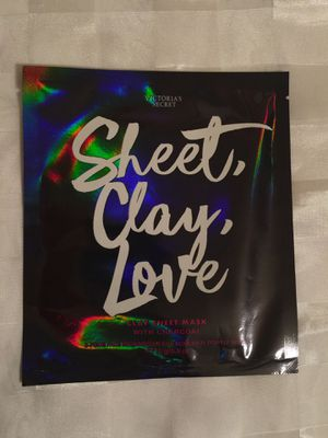 Victoria's Secret clay sheet mask with charcoal for Sale in Atlanta, GA