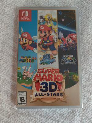 Super Mario 3D All-Stars Nintendo Switch for Sale in Woodbridge, VA