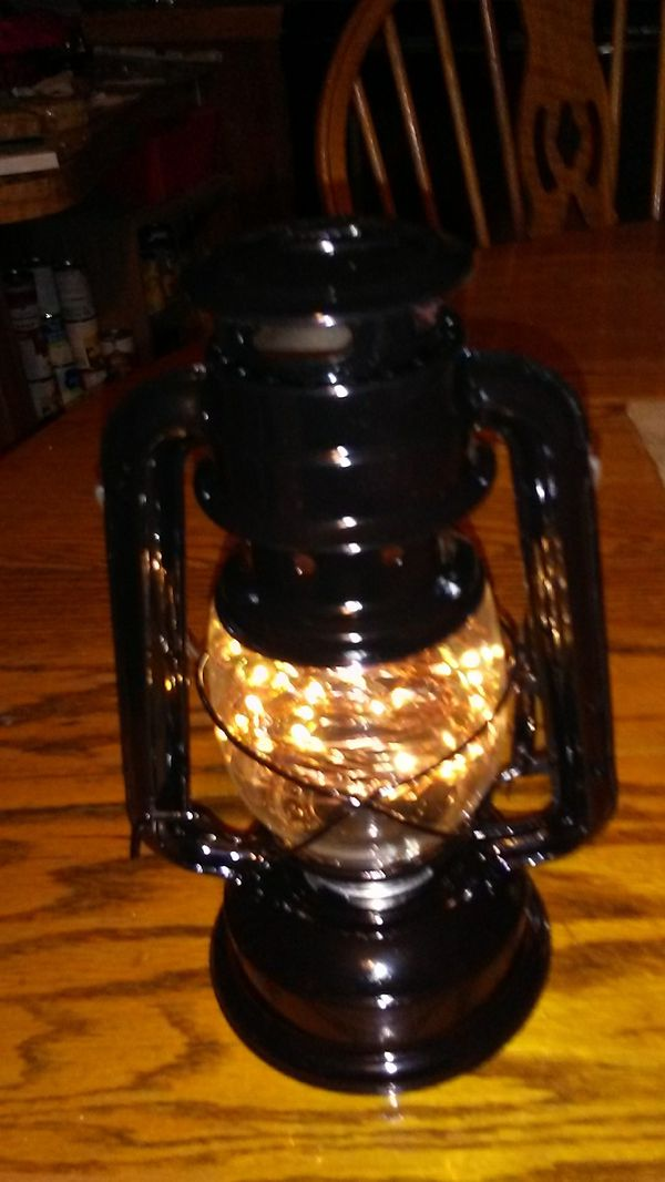 Ventage lantern battery operated