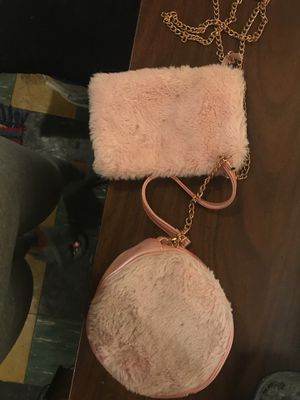 Pink purse with throw bag for Sale in Washington, DC