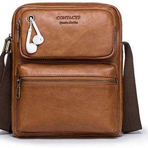"""Genuine Leather 11"""" Messenger Crossbody Shoulder Bag Travel Handbag for Sale in Los Angeles, CA"""