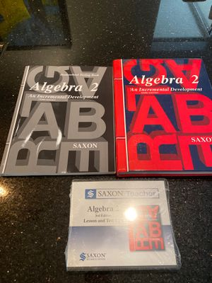 Saxon Math Algebra 2 Book Set for Sale in Phoenix, AZ