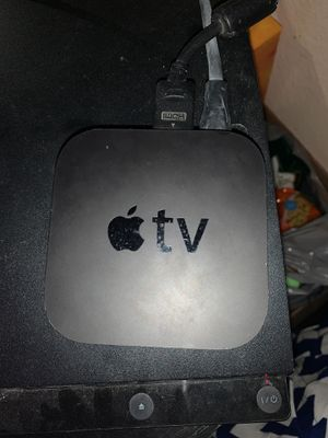 Apple Tv with remote for Sale in Upland, CA