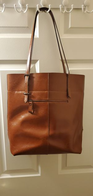 Leather tote bag for Sale in Columbus, OH