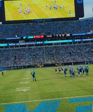 2 Lower Level Tickets for Panthers vs. Bills (August 16) for Sale in Smithfield, NC