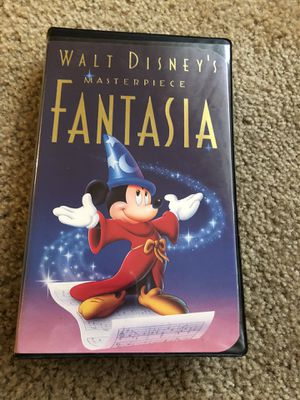 Disney Fantasia VHS - 1991 Christmas Label for Sale in Anaheim, CA