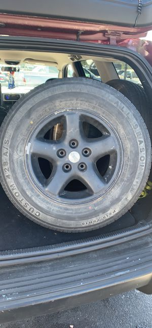 Jeep rims and tires for Sale in Norfolk, VA