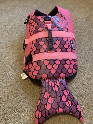 Puppy (mermaid) life vest! for Sale in Issaquah, WA