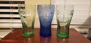 3 Vintage Collectible Coca-cola Glasses for Sale in Dallas, TX