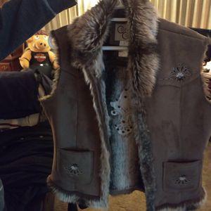 Fur Shade Vest , Woman's. for Sale in Sun City, AZ