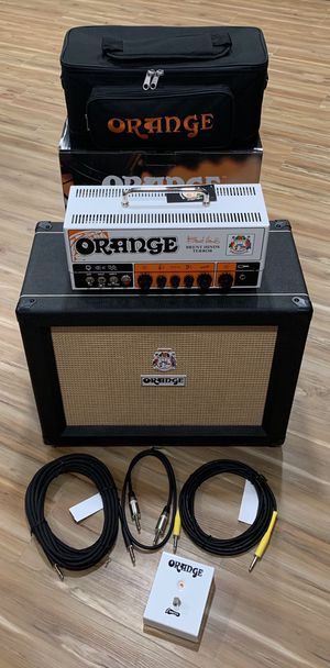 New Orange Amp Cab and New Accessories for Sale in EASTAMPTN Township, NJ