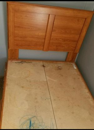 Twin captains bed with drawers frame only! for Sale in Minot, ND