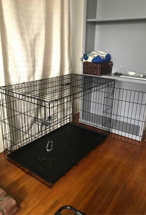 Large dog crate for Sale in Bellflower, CA
