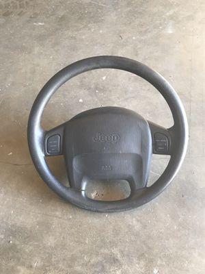 2004 Jeep TJ steering wheel for Sale in Alhambra, CA