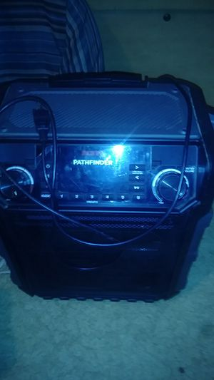 Pathfinder ion audio portable blue tooth speaker for Sale in Weaverville, CA