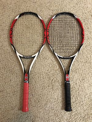 2 Wilson K-Factor K.six.one Rackets for Sale in Los Angeles, CA
