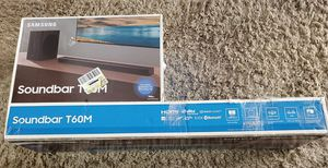 Soundbar with subwoofer NEW still in box Samsung for Sale in Chula Vista, CA
