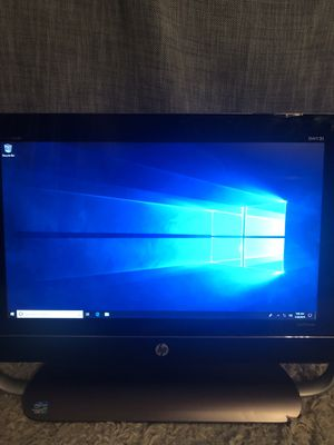 HP touch screen AIO PC 20 inch screen. Windows 10 for Sale in Keedysville, MD