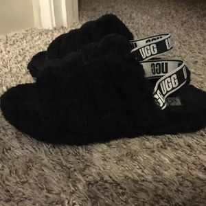 Classic Black uggs Slides/ slippers for Sale in Denver, CO