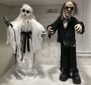 Animated bride and groom Halloween props for Sale in Miami, FL