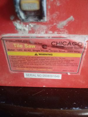 Used tilesaw for Sale in Houston, TX