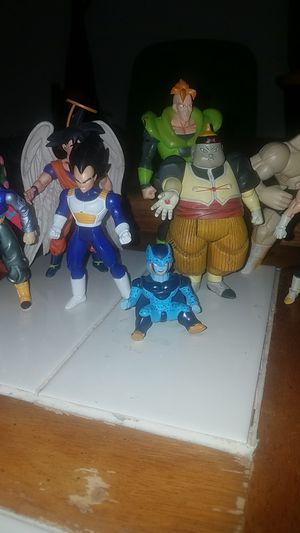 My DBZ Action Figure Collection for Sale in El Mirage, AZ