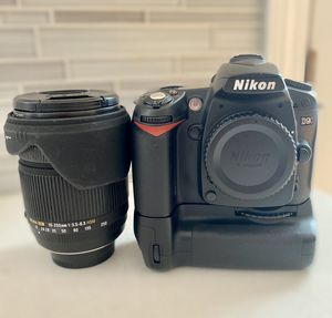 Nikon D90 DLSR w/ Sigma DC 18-250 mm lens for Sale in Windsor, CT