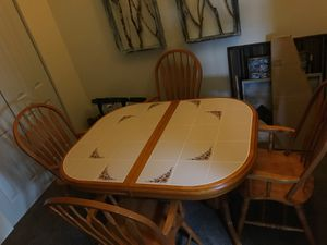 Table and 4 chairs for Sale in Great Bend, KS