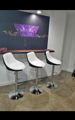 Brand new swivel bar stools - 3 chairs for Sale in Maryland Heights, MO
