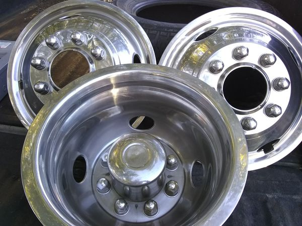 Dually wheels covers $80 OBO l only have (3)