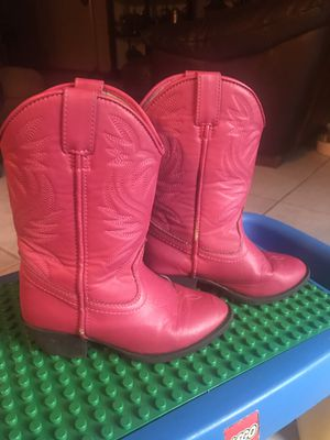 Pink Girls Boots size#12 for Sale in Austin, TX