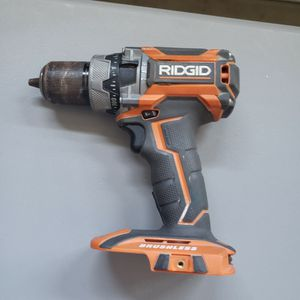 RIDGID 18-Volt Lithium-Ion Cordless Brushless 1/2 in. Compact Hammer Drill/Driver (Tool-Only) for Sale in Bakersfield, CA