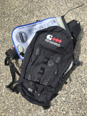 Geigerrig Camel Hydration Pack Backpack Black Water for Sale in Seattle, WA