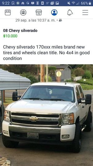 08 silverado for Sale in Kirkland, WA