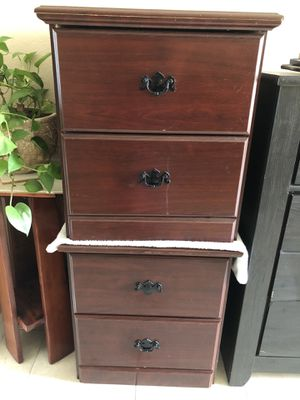 Cherrywood bed/night stands (2) for Sale in Land O Lakes, FL