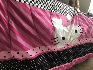 Hello Kitty Twin Beddding for Sale in Murfreesboro, TN