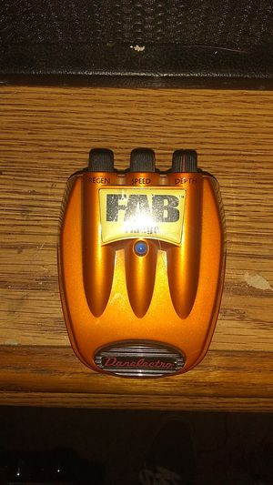 Danelectro flange pedal for Sale in Tacoma, WA