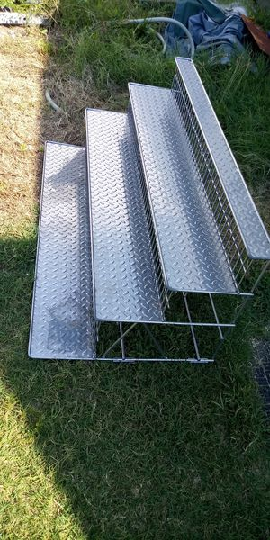 """Heavy duty stainless steel shelving 4' wide 21"""" tall 24"""" deep for Sale in Newport News, VA"""