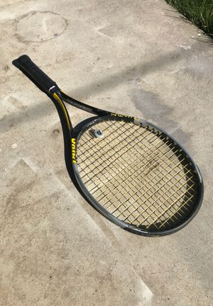 Völkl Quantum 10 Titanium Lite Carbon Tennis Racket with Wilson Grip and Sleeve for Sale in Fresno, CA