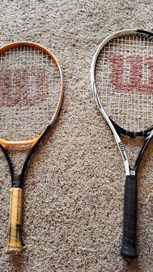 2 Wilson Tennis Racket for Sale in Olympia, WA