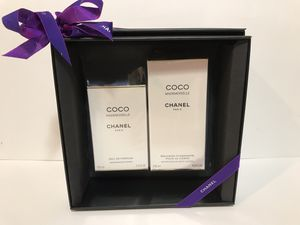 COCO MADEMOISELLE BY CHANEL PERFUME FOR WOMEN SPRAY 2PC GIFT SET 3.4 OZ + 6.8 OZ B/L NEW IN BOX for Sale in Dallas, TX