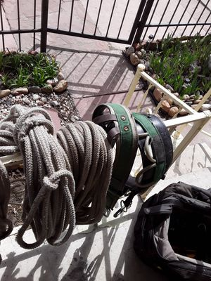 240 feet of rope and a Buckingham saddle for Sale in Denver, CO