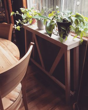 Custom Console / Plant Table for Sale in Wood Village, OR
