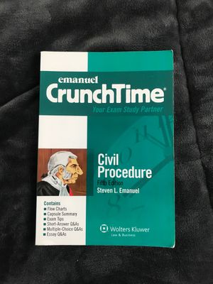 CrunchTime - Civil Procedure for Sale in Erie, PA