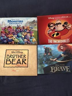 Disney Movies Lithographs 4 For Each Movie Great Condition $15 Each for Sale in Reedley,  CA