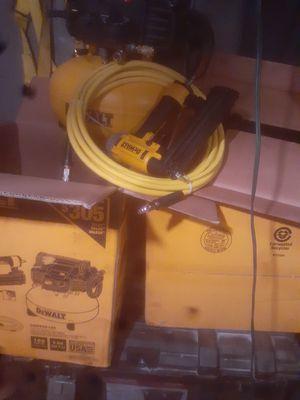 Dewalt compressor hose and gun for Sale in Gainesville, GA