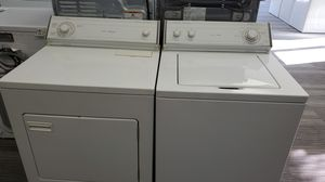 Whirlpool Washer and Electric Dryer Set - warranty included for Sale in Sacramento, CA