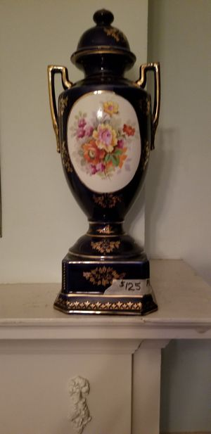 Two Decorative Antique China Vases for Sale in Calumet Park, IL