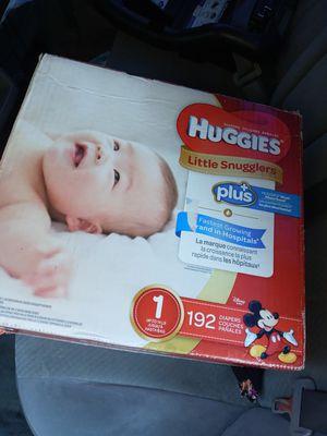 Huggies size 1 for Sale in Pomona, CA