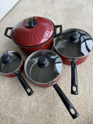 Pan and boiling pan set for Sale in Rockville, MD